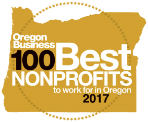2017 Oregon Business 100 Best Nonprofits to Work for in Oregon