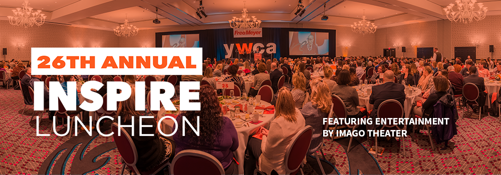 26th annual Inspire Luncheon, featuring entertainment by Imago Theater